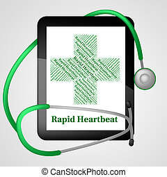 Rapid Heartbeat Indicates Ill Health And Disease - Rapid...