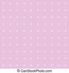 Seamless polka dot pattern with circles. Vector