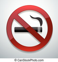 no smoking vector - This is icons vector illustration