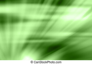 Abstract background in green tones.