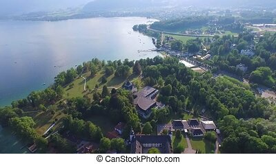 Traunsee, Traunstein, Gmunden - Schloss Ort is a castle...