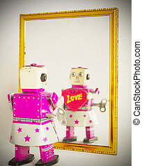 robot love - robot self love