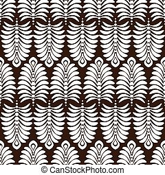 abstract floral wallpaper. Seamless pattern
