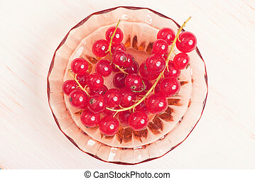 red currant - close up of red currant