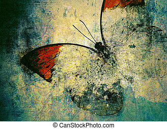 butterfly - lots of Butterfly background image