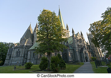 Nidaros Cathedral, Trondheim, Norway
