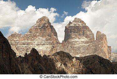 Drei Zinnen or Tre Cime di Lavaredo, Italien Alps - Drei...