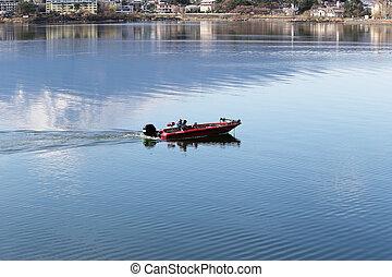 fishing boat.