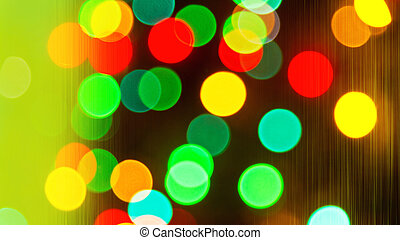 christmas background - Christmas background with colored...