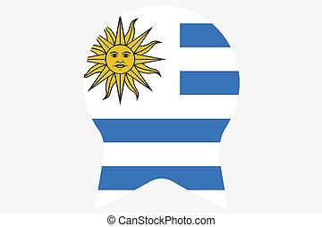 _Flags(Base)3 Uruguay -  Uruguay