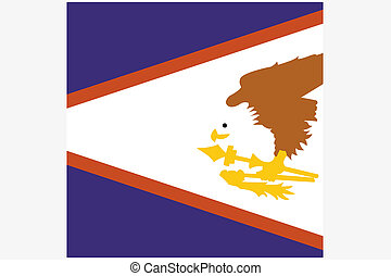 3D, isometrico, bandiera, illustrazione, di, il, Paese, di,...