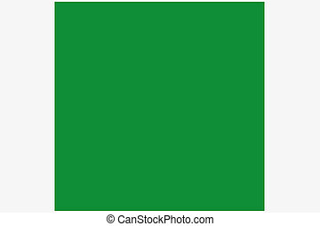 Square Flag Illustration of the country of Libya-83 - A...