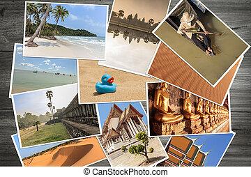 polaroid photos / travel pictures