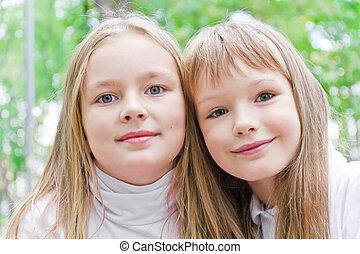 Cute two girls
