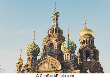 View Of Church On Spilled Blood - Church Of Savior On...