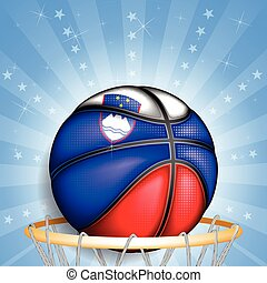 Slovenian basket ball