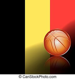 Belgian basketball, vector