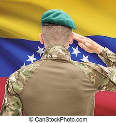 fuerzas, serie, nacional, -, bandera, Plano de fondo,...