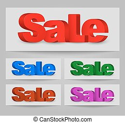 Design a banners for sale