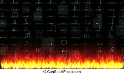 database in fire 4k
