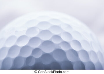 Golf Ball Close-up - Golf Ball with all its imperfections...