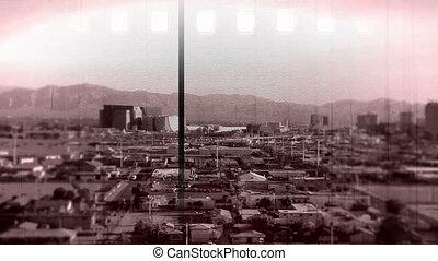 Vegas Tilt shift vintage
