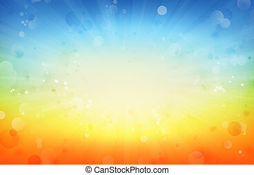 Bright background - Bright blast of light background. Copy...