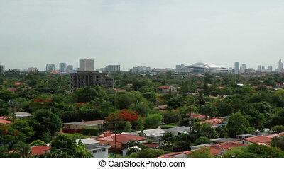 Miami Stadium View city view - Florida Miami stadium and...