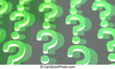 Question Mark Retro Abstract - Vintage question mark...