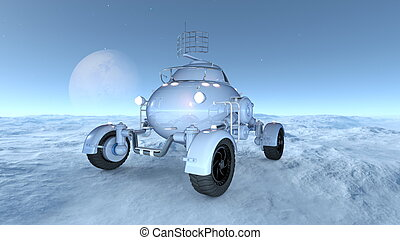 Space rover - Image of space rover