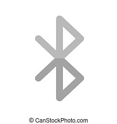 Bluetooth, sharing, transfer icon vector image Can also be...
