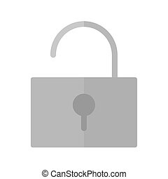 Unlock, open, security icon vector image Can also be used...