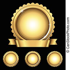 Shiny Gold Emblem & Seals