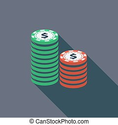 Gambling chips