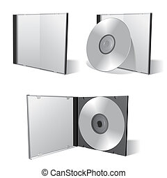 Cd box set - Cd boxes and cds