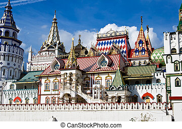 Kremlin - Beautiful kremlin in Izmailovo, Moscow, Russia