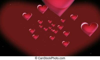 hearts 4k