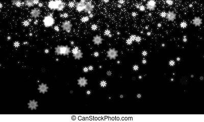 snow stars 4k