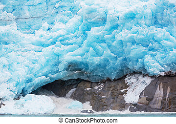 Glacier in Alaska - Glaciers in Alaska