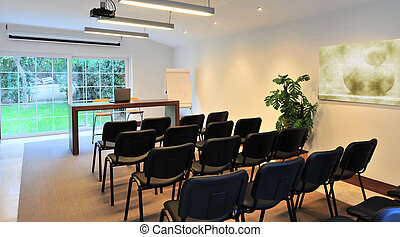 meeting room for business at the office