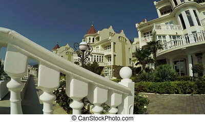 Relax Hotel by sea - Near coast of Black Sea Crimea curly...