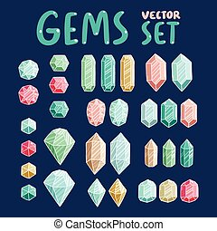 Gemstones collection
