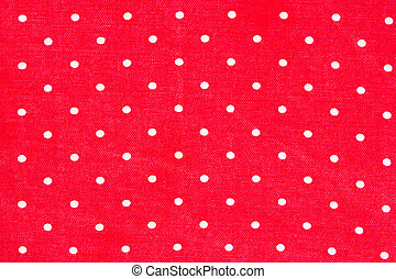 red tablecloth points