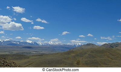 Landscape in the Altai Mountains Mars valley - Landscape...