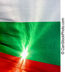 National flag of the Republic of Bulgaria