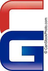 C & G Letter Logo - Logo Template