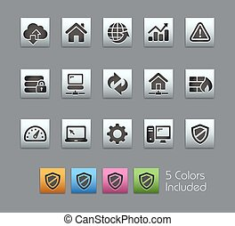 Web Developer Icons -- Satinbox - The Vector file includes 5...