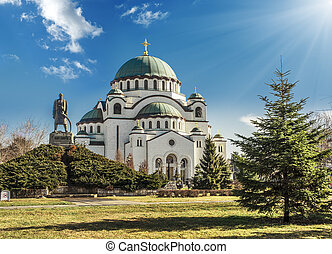 Belgrade Beograd, Saint Sava Cathedral Hram Svetog Save and...
