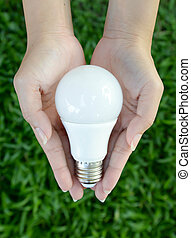 LED bulb - energy lighting in our control