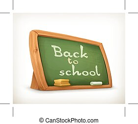 School board icon - School board, back to school icon,...